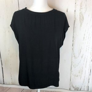 💰2 for $20 Banana Republic Black Loose Fit Shell